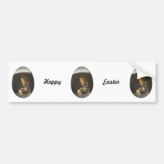 easter egg robin car bumper sticker