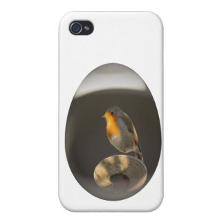 easter egg robin iPhone 4/4S covers