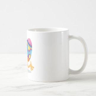 easter egg running coffee mug
