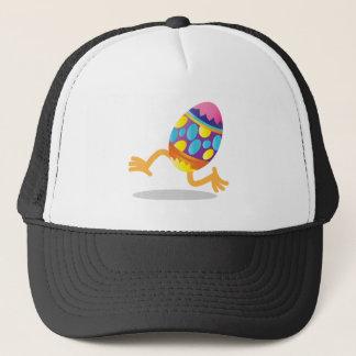 easter egg running trucker hat