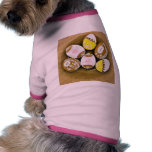 Easter Egg Shaped Biscuits On The Plate Pet Tshirt