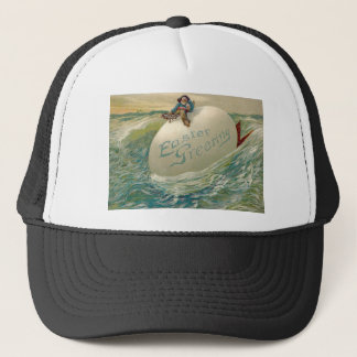 Easter Egg Ship Pirate Chicken Ocean Sea Trucker Hat