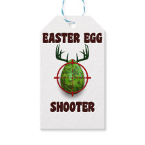 easter egg shooter, funny easter deer gift desgin gift tags