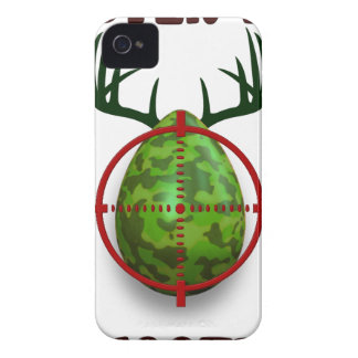 easter egg shooter, funny easter deer gift desgin iPhone 4 cover
