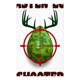 easter egg shooter, funny easter deer gift desgin stationery