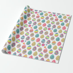 Easter Egg Themed Wrapping Paper
