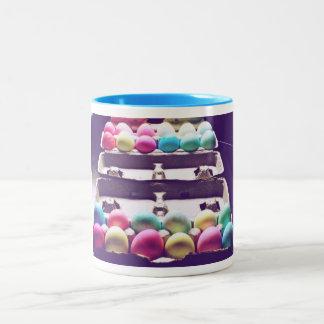 Easter Egg Time Two-Tone Coffee Mug