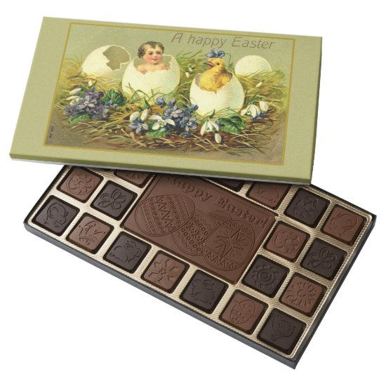 Easter Egg Victorian Style Art Assorted Chocolates