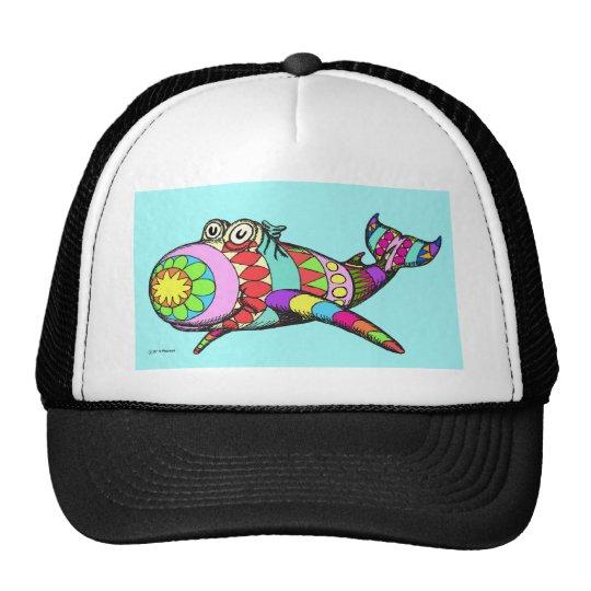 Easter Egg Whale Trucker Hat