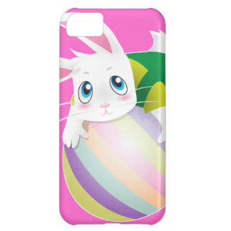 Easter Egg with Bunny on top iPhone 5C Cover