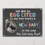Easter Eggcited Pregnancy Ultrasound Announcement