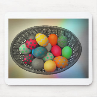 Easter Eggs2 Mouse Pad