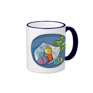 Easter Eggs 2 Ringer Mug