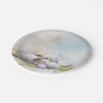 Easter Eggs 7 Inch Paper Plate