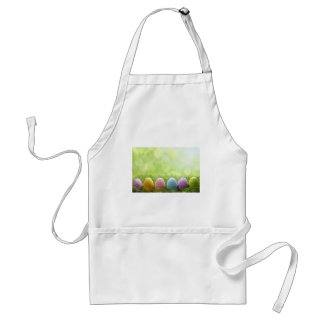 Easter Eggs Adult Apron