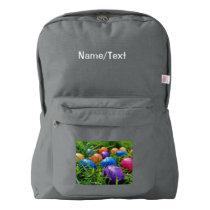 Easter Eggs American Apparel™ Backpack