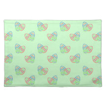 Easter Eggs American MoJo Placemat Cloth Place Mat