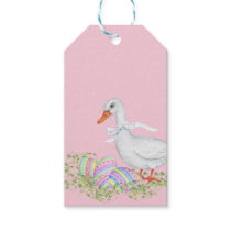 Easter Eggs and Easter Duck Gift Tags