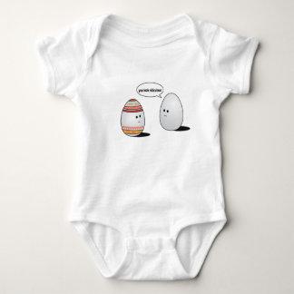 easter eggs baby bodysuit