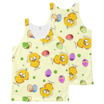 Easter Eggs & Baby Chicks All-Over-Print Tank Top
