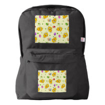 Easter Eggs & Baby Chicks American Apparel™ Backpack