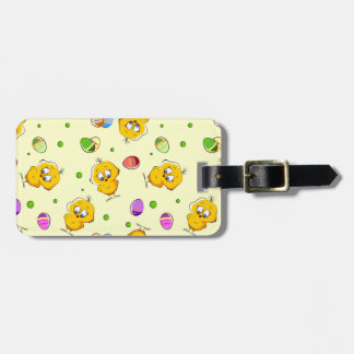Easter Eggs & Baby Chicks Bag Tag