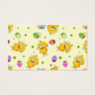 Easter Eggs & Baby Chicks Business Card