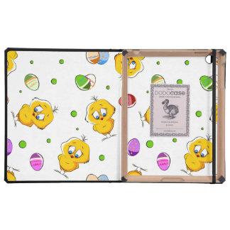 Easter Eggs & Baby Chicks iPad Folio Cases