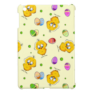 Easter Eggs & Baby Chicks iPad Mini Covers