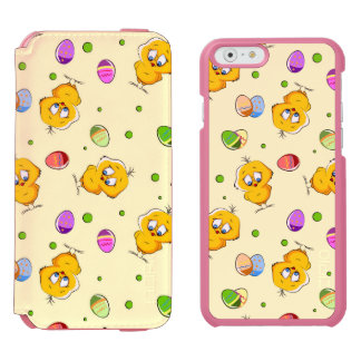 Easter Eggs & Baby Chicks iPhone 6/6s Wallet Case