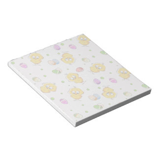Easter Eggs & Baby Chicks Notepad