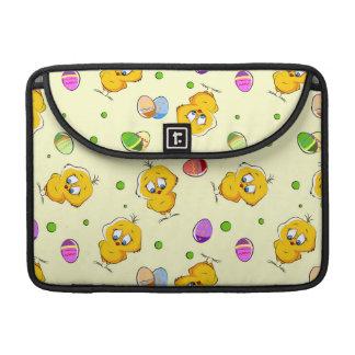 Easter Eggs & Baby Chicks Sleeve For MacBooks