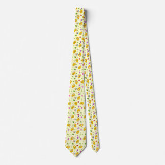 Easter Eggs & Baby Chicks Tie