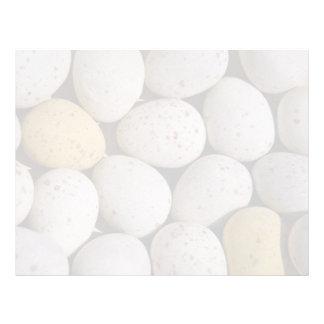 Easter eggs background Photo Letterhead