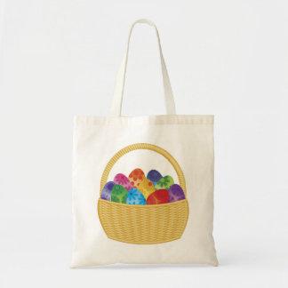 Easter Eggs Basket Bag