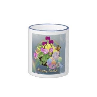 Easter Eggs Basket Mug