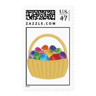 Easter Eggs Basket Postage