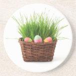 Easter Eggs Beverage Coaster