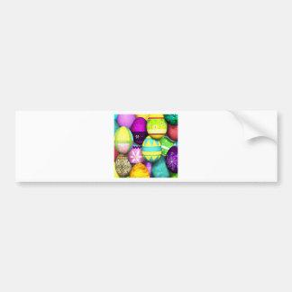 Easter Eggs Bumper Sticker