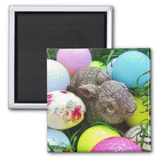 Easter Eggs, bunny and Golf Balls Magnets