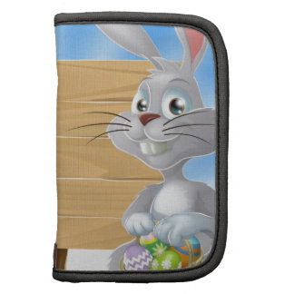 Easter eggs bunny and sign folio planners