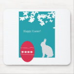 easter- eggs- bunny mouse pad