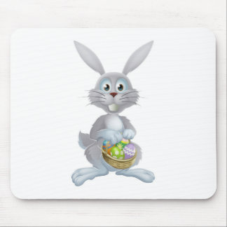 Easter eggs bunny mouse mat