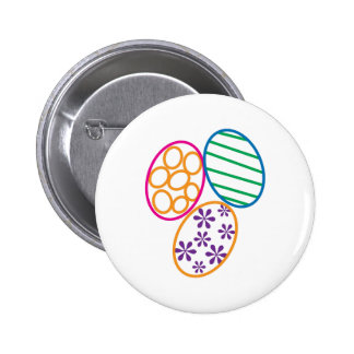 Easter Eggs 2 Inch Round Button