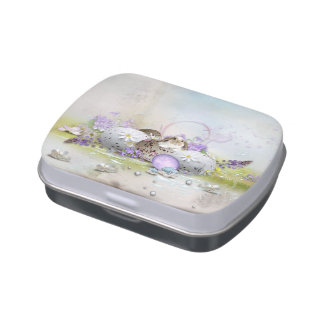 Easter Eggs Candy Tin