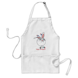 Easter Eggs (Challenge) Accepted Adult Apron
