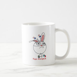 Easter Eggs (Challenge) Accepted Coffee Mugs
