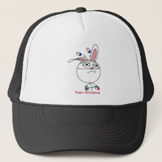 Easter Eggs (Challenge) Accepted Trucker Hat