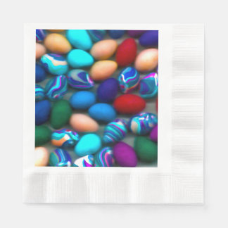 Easter Eggs Coined Paper Napkin