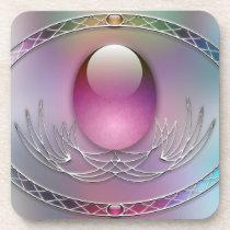Easter Eggs Cork Coaster